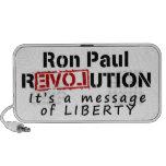 Revolución de Ron Paul es un mensaje de la liberta Altavoces De Viajar