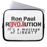 Revolución de Ron Paul es un mensaje de la liberta Funda Computadora