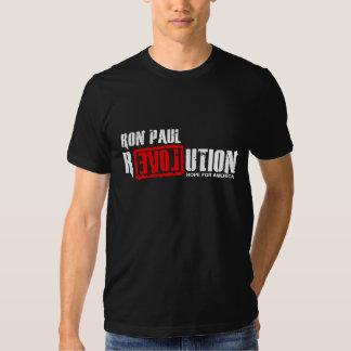 Revolución de Ron Paul - esperanza de América Polera