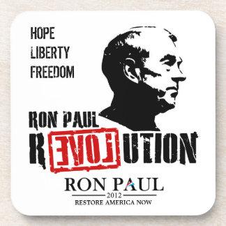 Revolución de Ron Paul - esperanza - libertad - li Posavasos De Bebida
