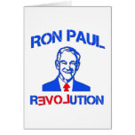 Revolución de Ron Paul Felicitación