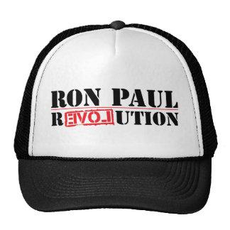 Revolución de Ron Paul Gorras De Camionero
