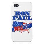 Revolución de Ron Paul iPhone 4 Cárcasa