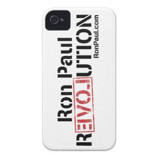 Revolución de Ron Paul iPhone 4 Case-Mate Cárcasas
