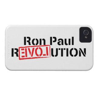 Revolución de Ron Paul iPhone 4 Case-Mate Coberturas