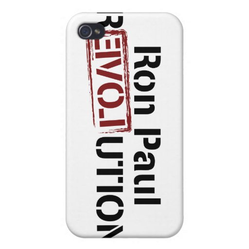 Revolución de Ron Paul iPhone 4 Coberturas