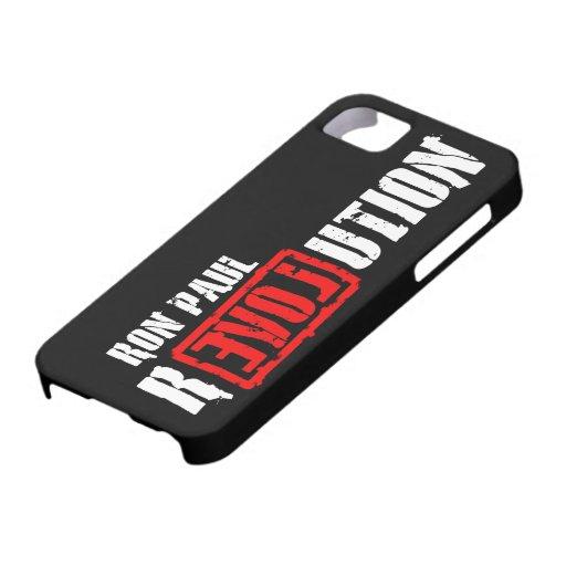 Revolución de Ron Paul iPhone 5 Cárcasa