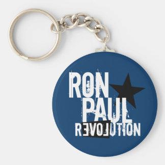 Revolución de Ron Paul Llavero Redondo Tipo Pin