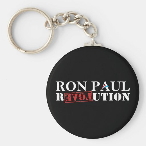 Revolución de Ron Paul Llaveros Personalizados