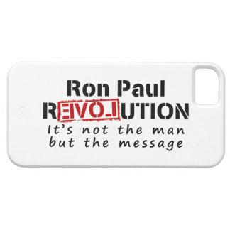 Revolución de Ron Paul no el hombre sino el iPhone 5 Carcasa