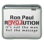 Revolución de Ron Paul no el hombre sino el mensaj Fundas Para iPads