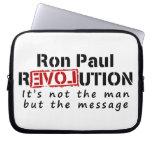 Revolución de Ron Paul no el hombre sino el mensaj Fundas Portátiles