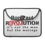 Revolución de Ron Paul no el hombre sino el mensaj Funda Macbook Pro