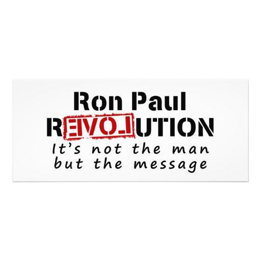 Revolución de Ron Paul no el hombre sino el mensaj Invitación