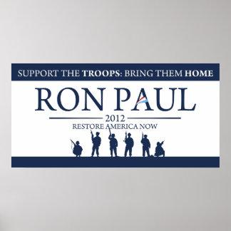 Revolución de Ron Paul Posters