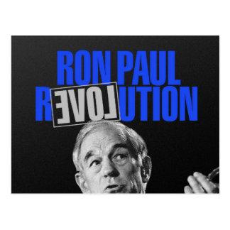 Revolución de Ron Paul, para el presidente 2012 Postal