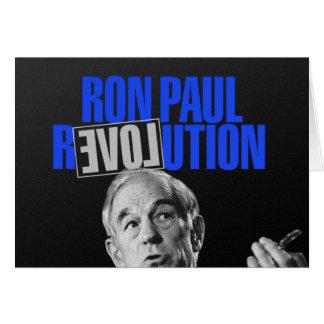 Revolución de Ron Paul, para el presidente 2012 Tarjeta De Felicitación