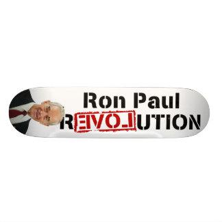 Revolución de Ron Paul Patineta Personalizada