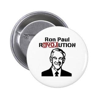 Revolución de Ron Paul Pin Redondo De 2 Pulgadas