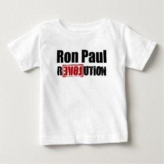 Revolución de Ron Paul Playera De Bebé