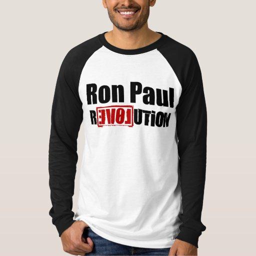 Revolución de Ron Paul Playeras