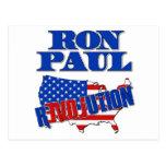 Revolución de Ron Paul Postales