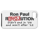 Revolución de Ron Paul que no terminó en '08 iPhone 5 Case-Mate Carcasas