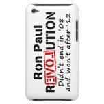 Revolución de Ron Paul que no terminó en '08 iPod Case-Mate Coberturas