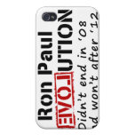 Revolución de Ron Paul que no terminó en '08 iPhone 4/4S Carcasas