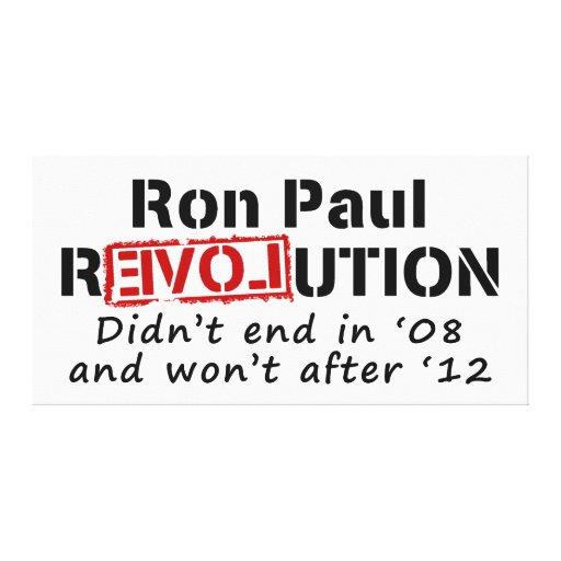 Revolución de Ron Paul que no terminó en '08 Impresiones De Lienzo