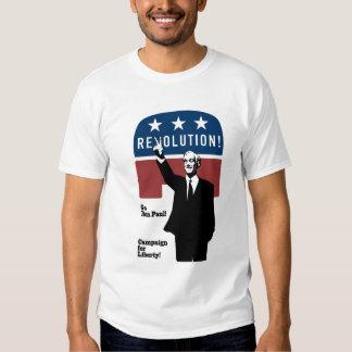 ¡Revolución de Ron Paul! Remera