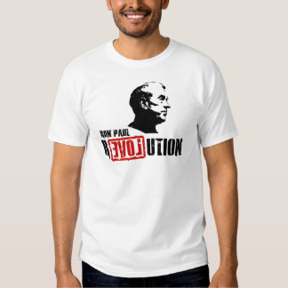 Revolución de Ron Paul Remeras