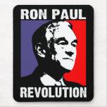 Revolución de Ron Paul Tapetes De Raton