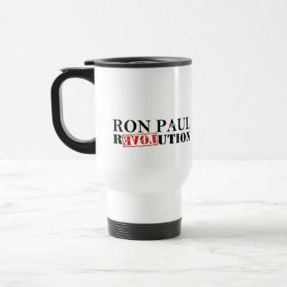 Revolución de Ron Paul Taza De Viaje De Acero Inoxidable