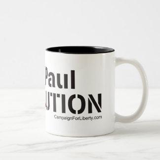 Revolución de Ron Paul Tazas De Café