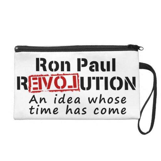 Revolución de Ron Paul una idea cuya ha venido hor