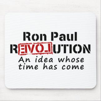 Revolución de Ron Paul una idea cuya ha venido hor Tapete De Raton