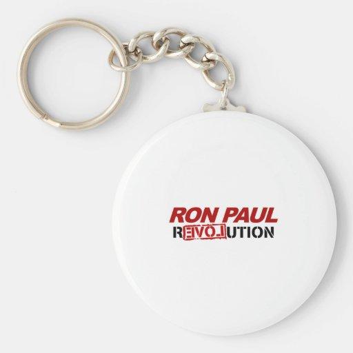 Revolución de Ron Paul - voto del presidente de la Llavero Redondo Tipo Pin