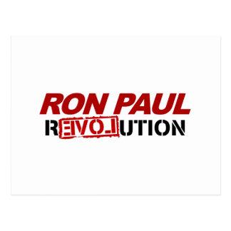 Revolución de Ron Paul - voto del presidente de la Postales