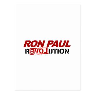 Revolución de Ron Paul - voto del presidente de la Postal