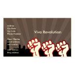 Revolución de Viva Tarjetas De Visita