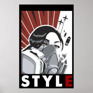revolución del arte póster