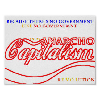 Revolución del capitalista de Anarcho Posters