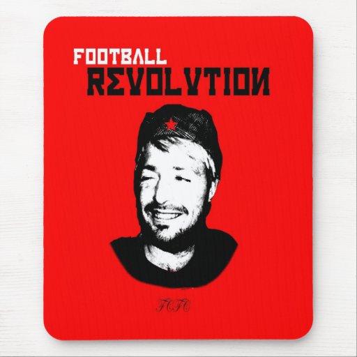 Revolución del fútbol tapetes de raton