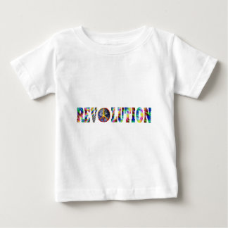 Revolución del Hippie Playera De Bebé