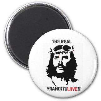 Revolución del Jesucristo Imán Redondo 5 Cm