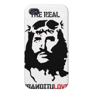 Revolución del Jesucristo iPhone 4 Protector
