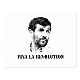 Revolución del la de Ahmadinejad - de Viva Tarjeta Postal