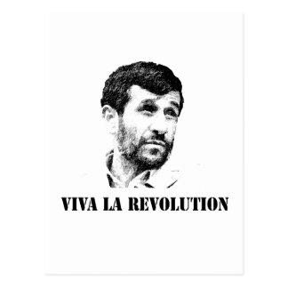 Revolución del la de Ahmadinejad - de Viva Tarjetas Postales