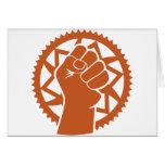 Revolución del poder de Chainring Felicitaciones
